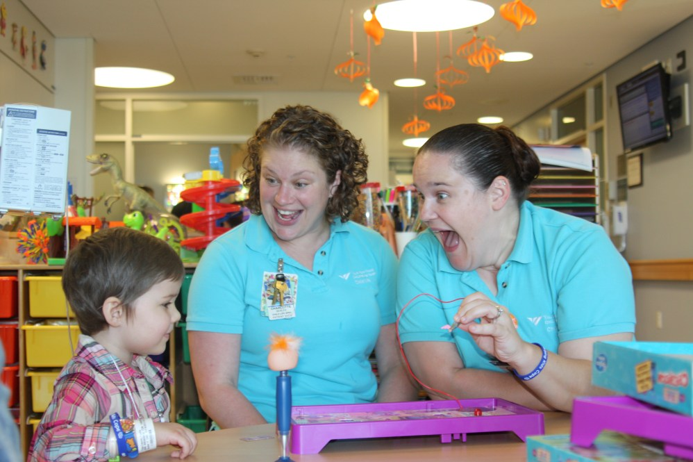 Child Life Specialists at Yale New Haven Children's