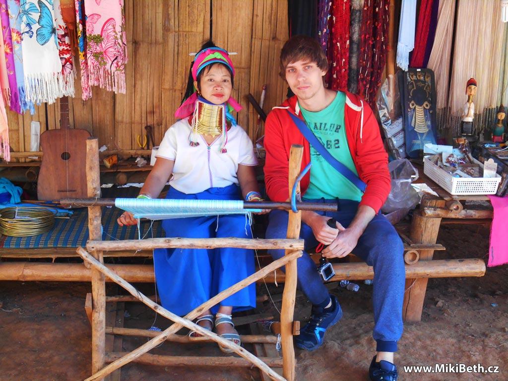 karen village dlouhokrké ženy