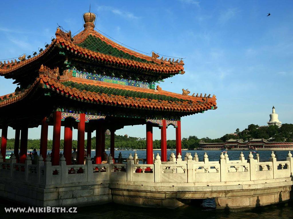beihai park peking