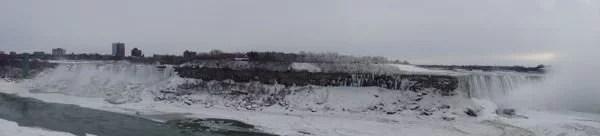 Niagara Falls panorâmica