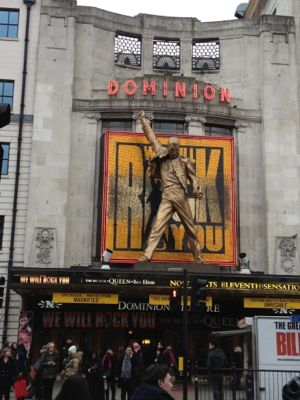 We will Rock You em Londres