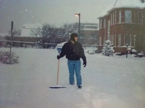 Primeira nevasca no Canadá