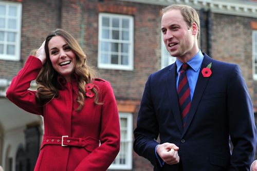 Kate and Will Remembrance Day 2014
