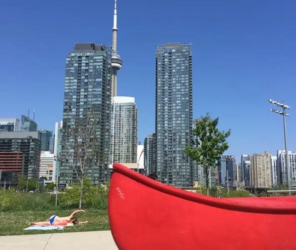 Verão em Toronto