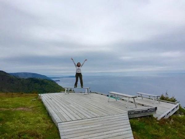 Cabot Trail em Nova Scotia