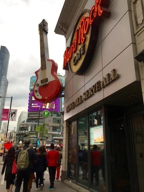 Hard Rock Cafe em Toronto