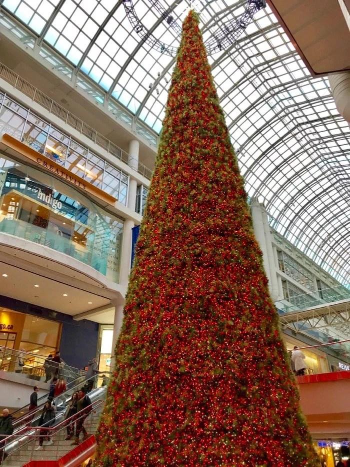 Árvore de Natal do Eaton Centre - Toronto