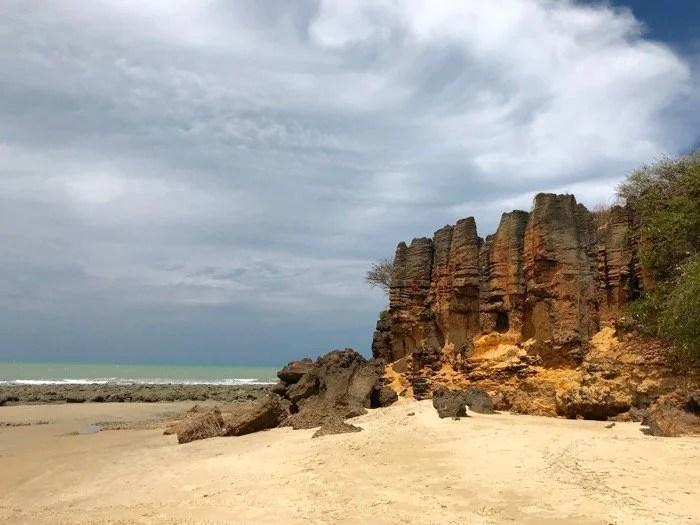 Praia de Tourinhos em São Miguel do Gostoso