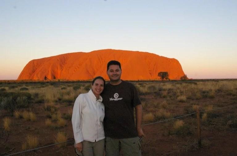 Casal Mikix na Australia