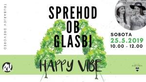 Sprehod ob glasbi: Happy Vibe @ Trubarjev drevored