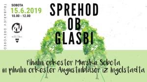 Sprehod ob glasbi: Pihalni orkester Murska Sobota & Augustinbläser Ingolstadt