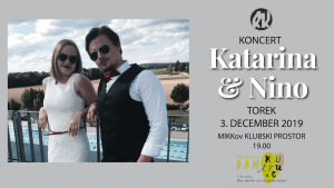 Ta veseli dan kulture v MIKKu: Koncert- Katarina & Nino
