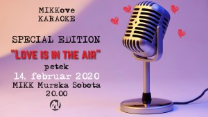 """MIKKove karaoke: """"Love is in the air"""""""
