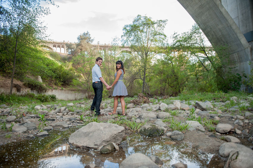 Anniversary Love in Arroyo Seco Park California  Raleigh and NYC Wedding Photographer Mikkel