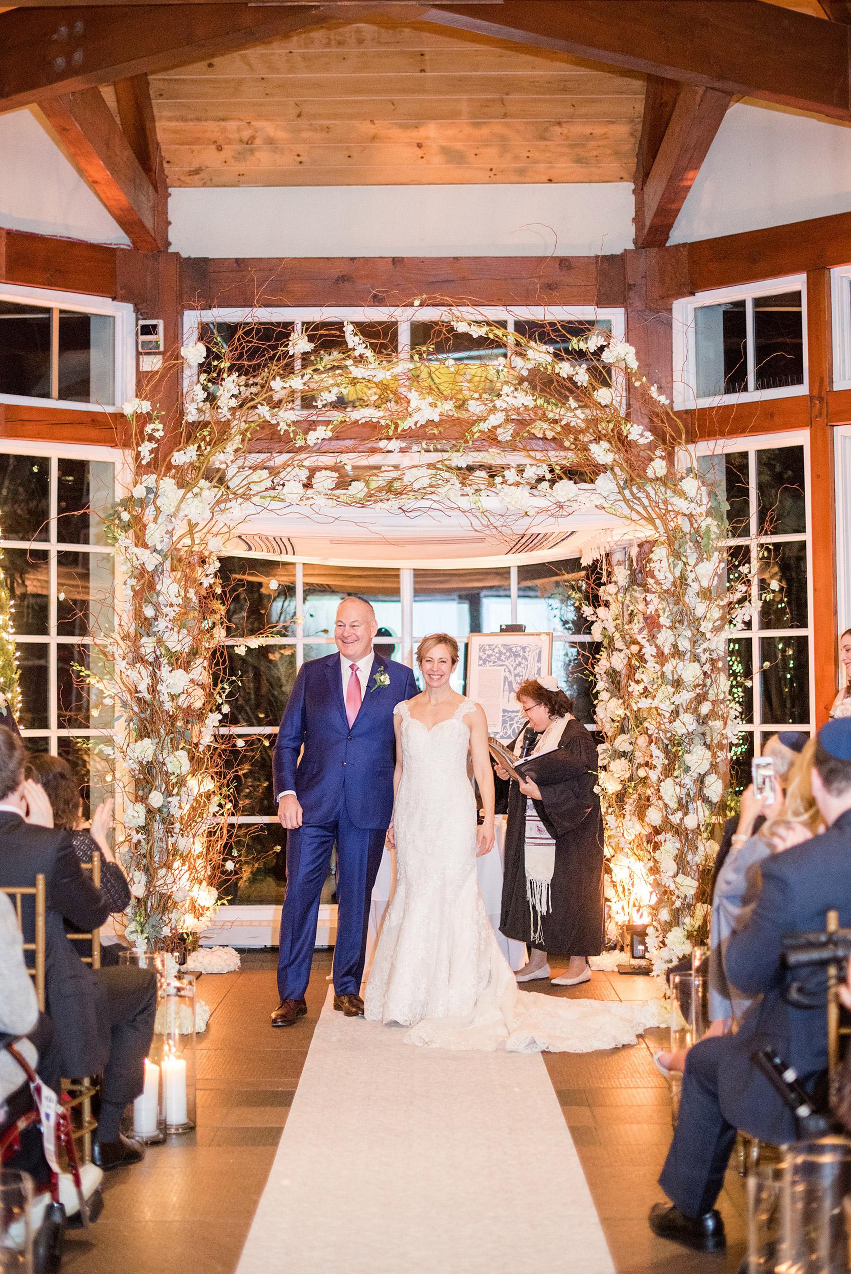 Central Park Loeb Boathouse Winter Wedding Photos