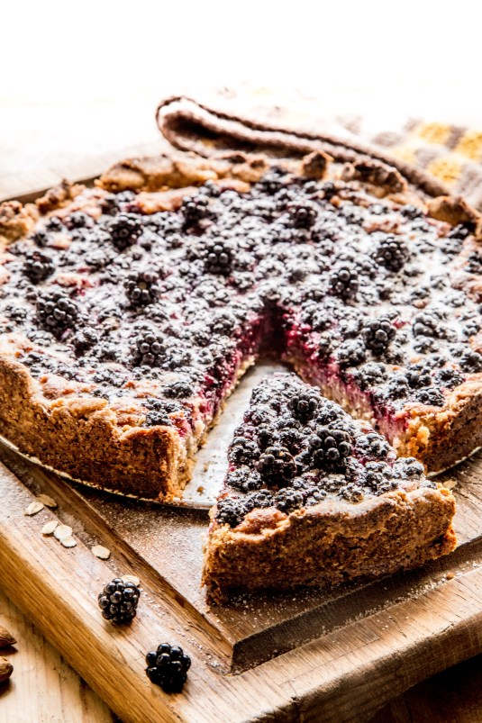 Brombærtærte - Mikkels Madblog