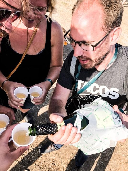 Bobler hældes op på Haven-festival