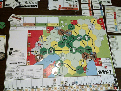1846 board after game