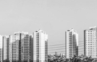 Buildings in South America, B&W