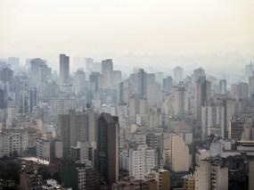 View from Edifício Itália, São Paulo