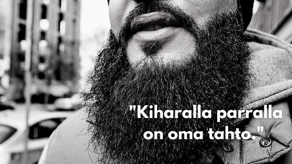 Kihara parta – miksi parta on kihara?