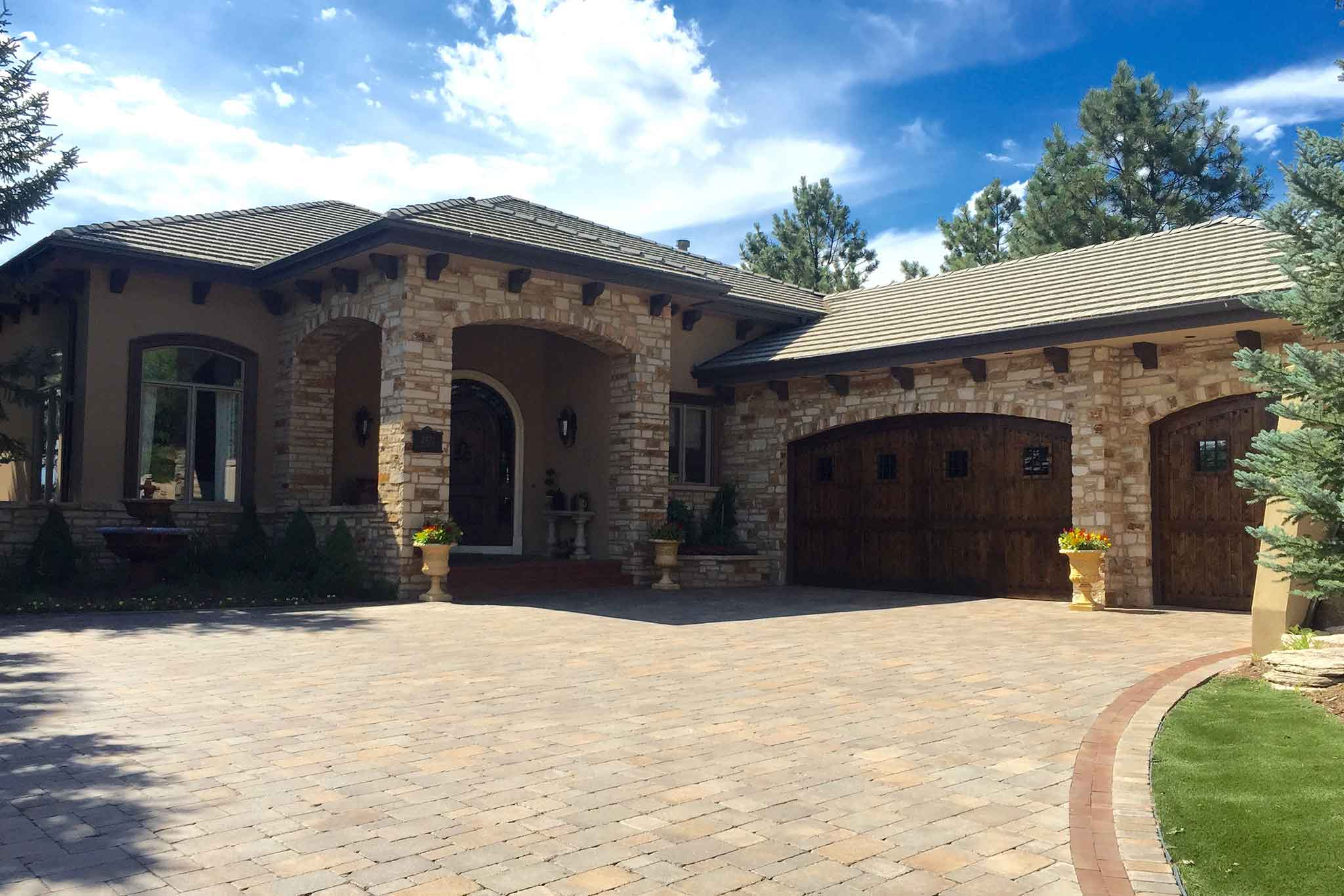 Tuscan Style Smart Home  Miklin Construction
