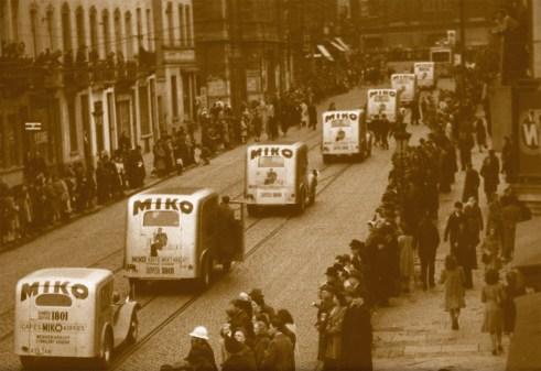 Miko Coffee varebiler med kaffe til folket.