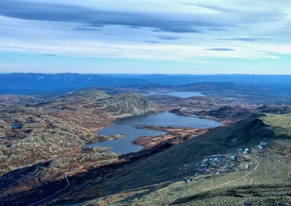 Panorama pod szczytem