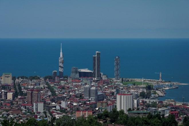 Wybrzeże Morza Czarnego w Batumi