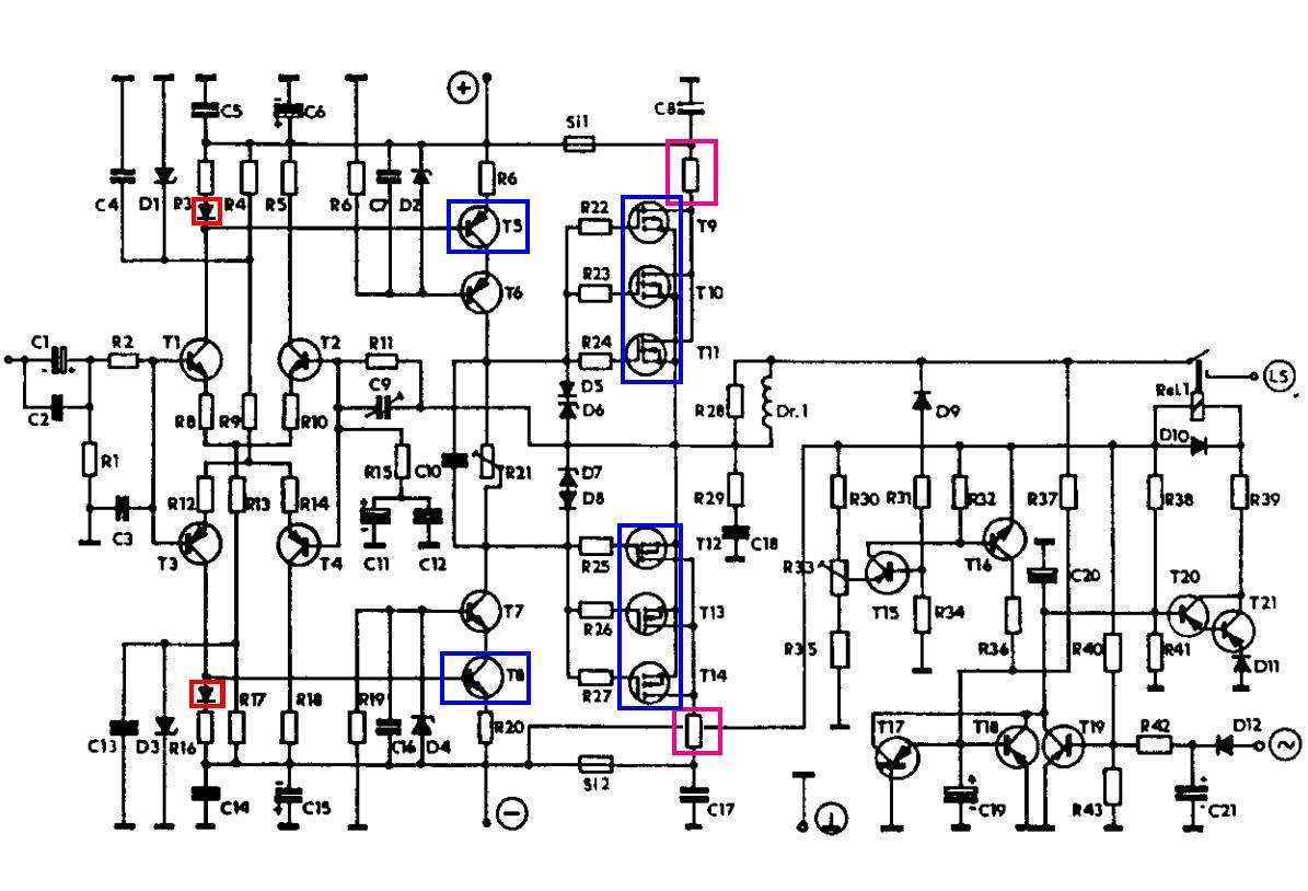Different Ref Voltage Creating In Compl Cascode Vas