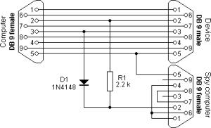 RS232 Splitter  Mikrocontroller