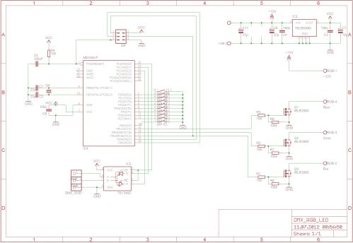 small resolution of dmx steuerbaren rgb led par oder pinnspot selber bauen belden 9727 wiring diagram dmx dmx connector wiring