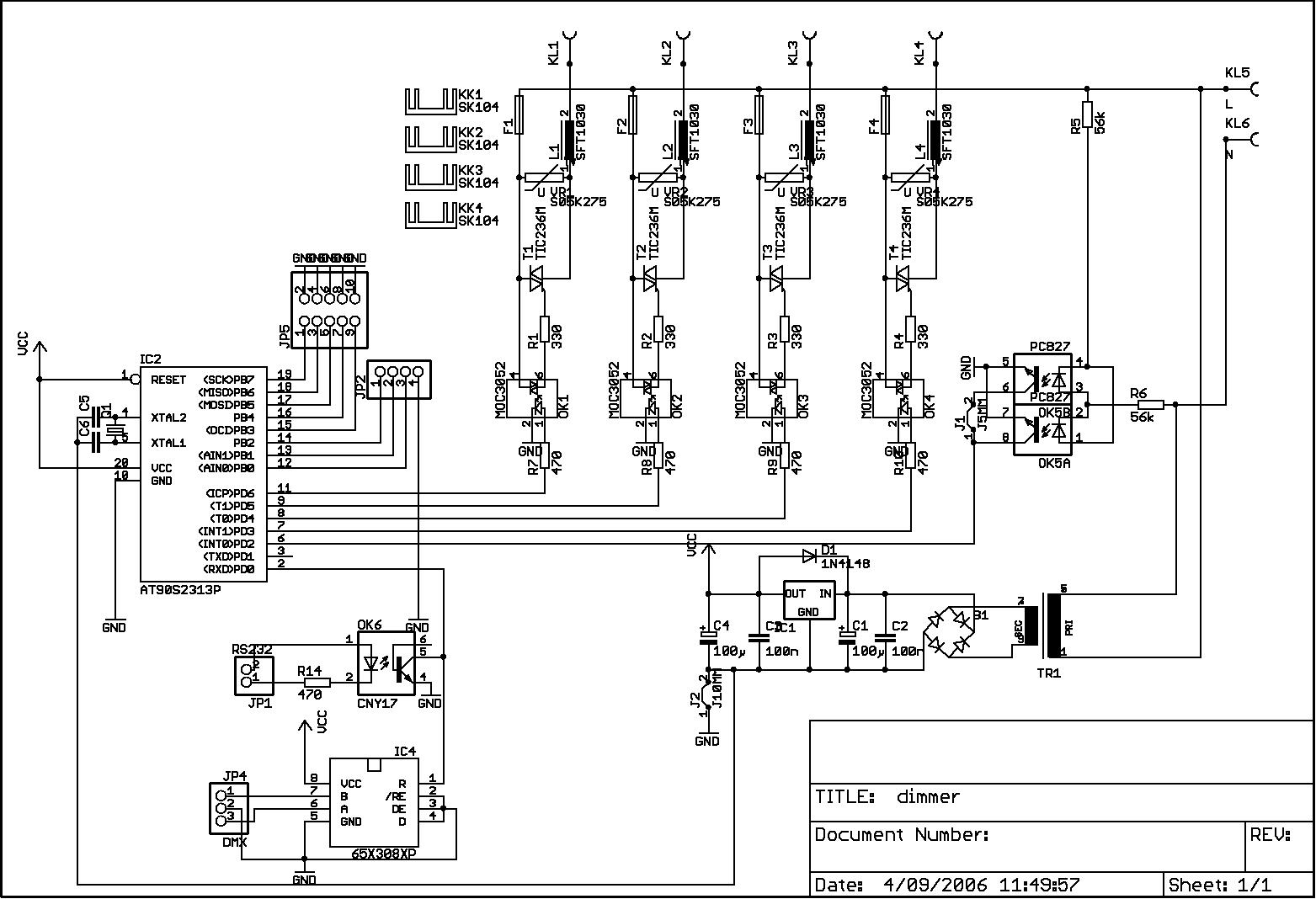 Atxam's Files Here: AVR DMX