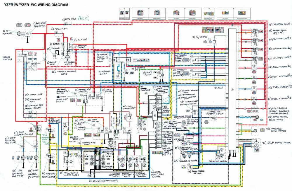 medium resolution of 1996 fzr 600 wiring diagram schematic data wiring diagram 1991 yamaha fzr 600 wiring diagram fzr