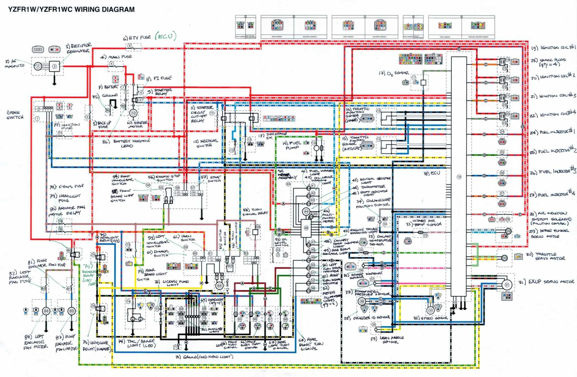 hight resolution of 1996 fzr 600 wiring diagram schematic data wiring diagram 1991 yamaha fzr 600 wiring diagram fzr