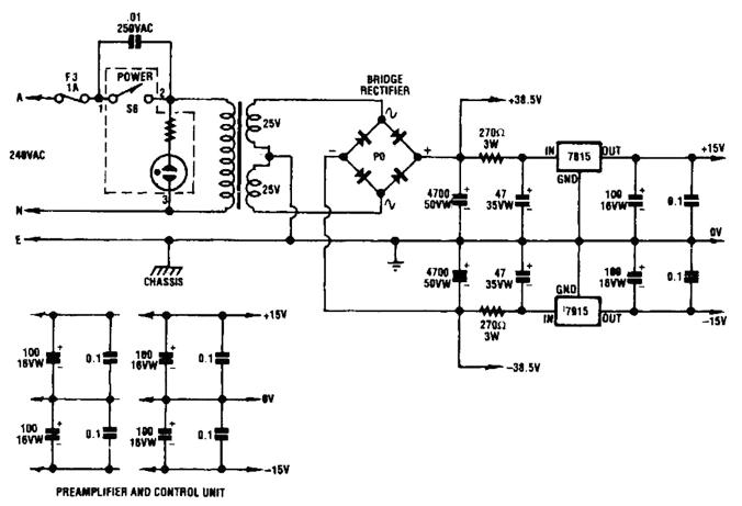 Verhältnis Kondensatoren nach dem Gleichrichter bzw. RC