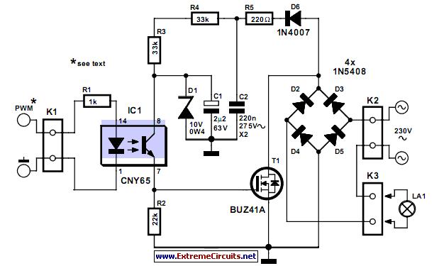 12v led light del Schaltplan