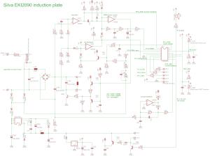 Induktionskochfeld hacken  optimieren  Mikrocontroller