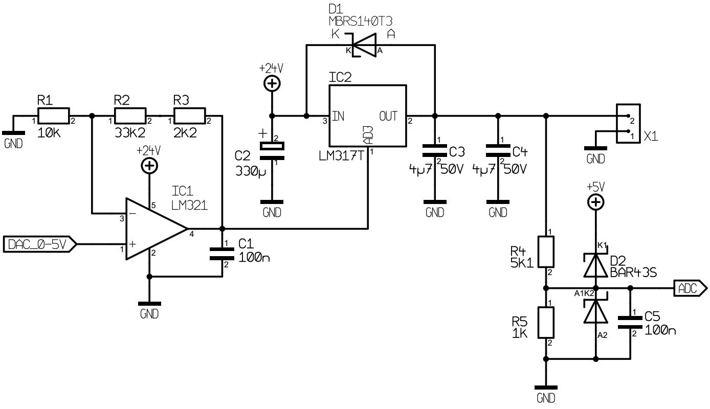 Lm317 Power Supply Schematic