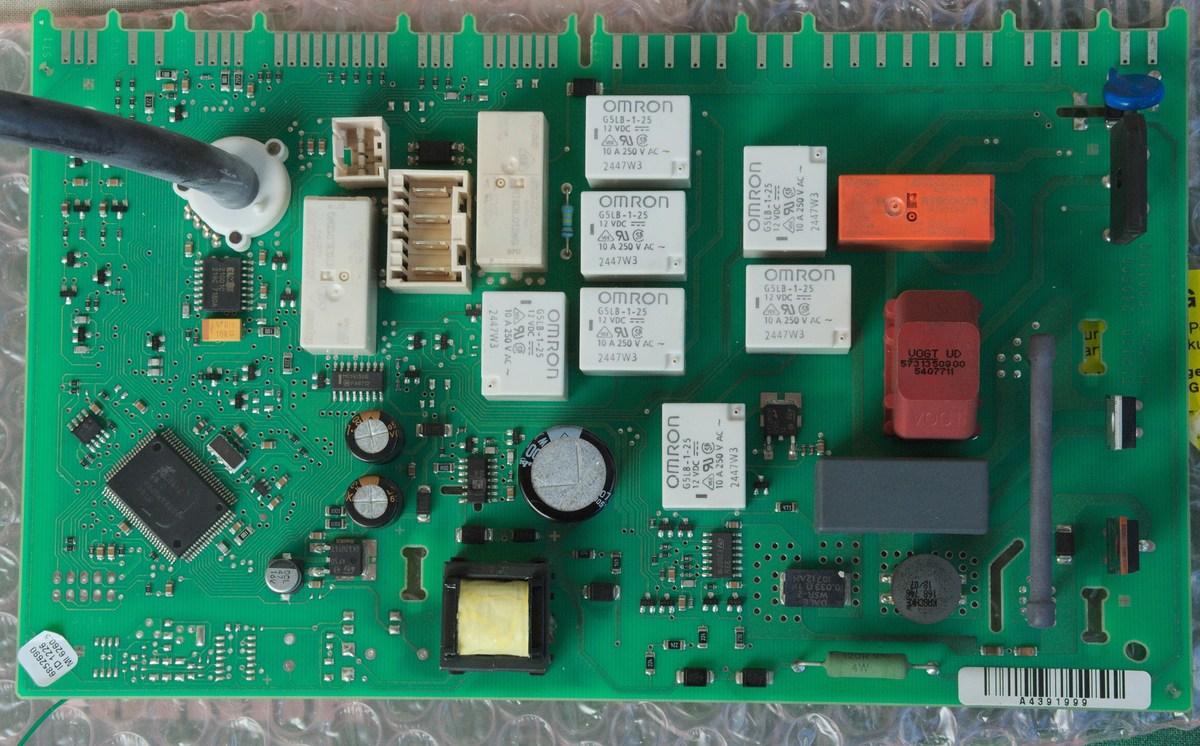 Miele Gala Grande Waschmaschine pltzlich Tod Hauptplatine Netzteil  Mikrocontrollernet