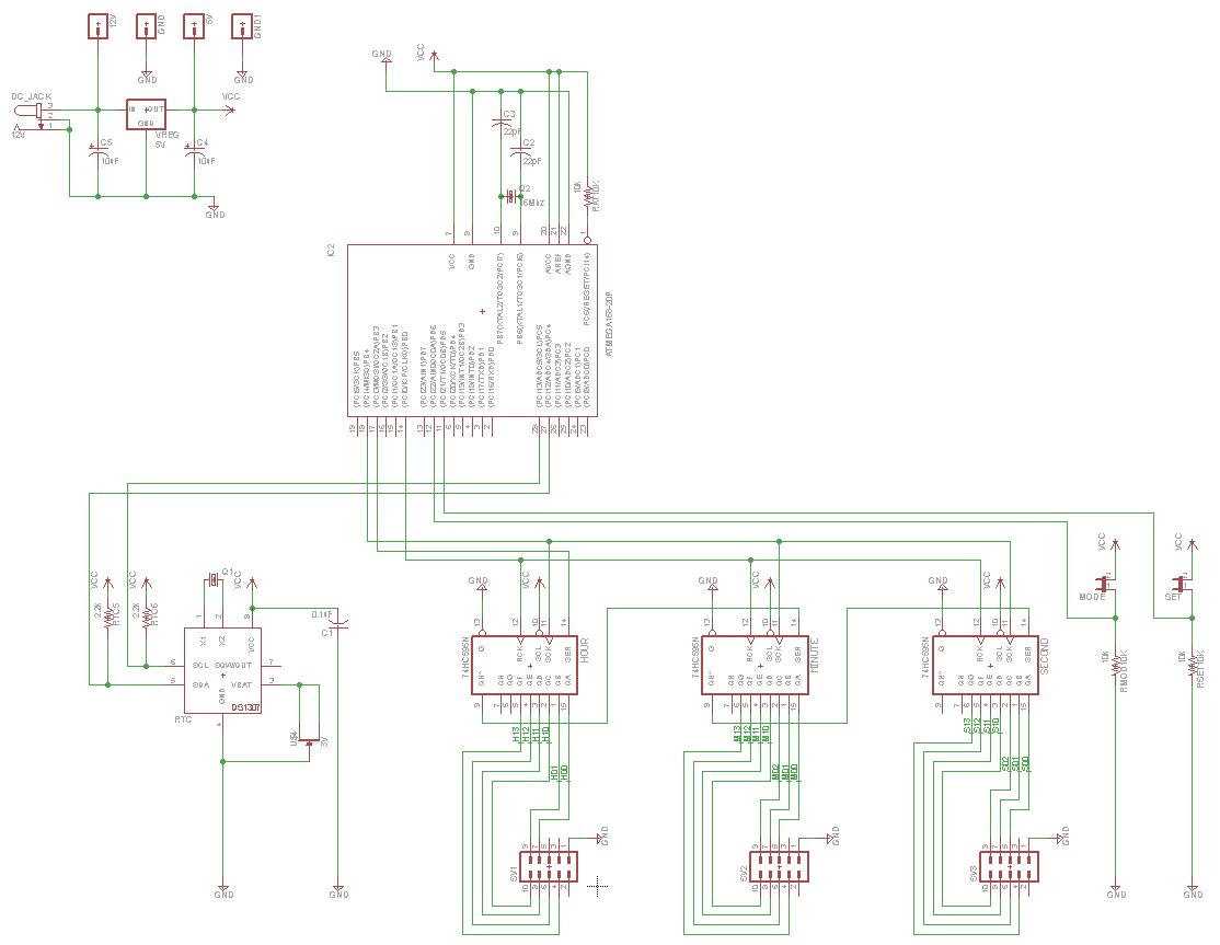 Binar Uhr Projekt Arduino
