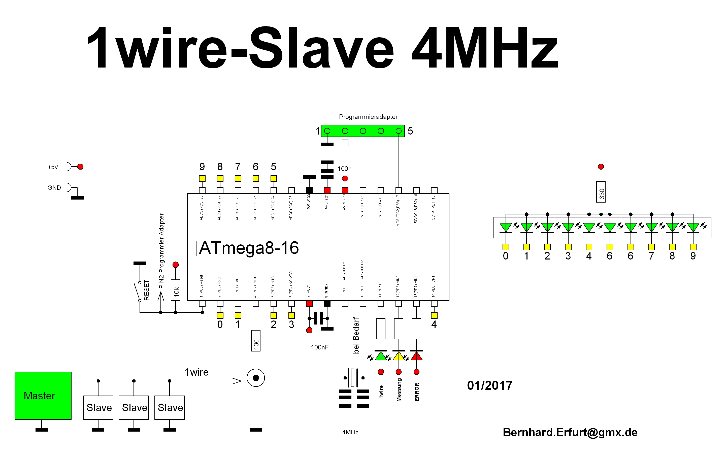 1 Wire Ow Wire Slave Device
