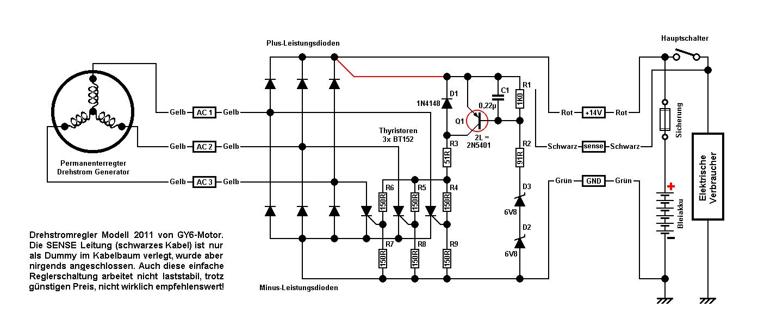 Ford 5000 Diesel Tractor Wiring Diagram Motorrad Laderegler An 2 Pol Lima Mikrocontroller Net