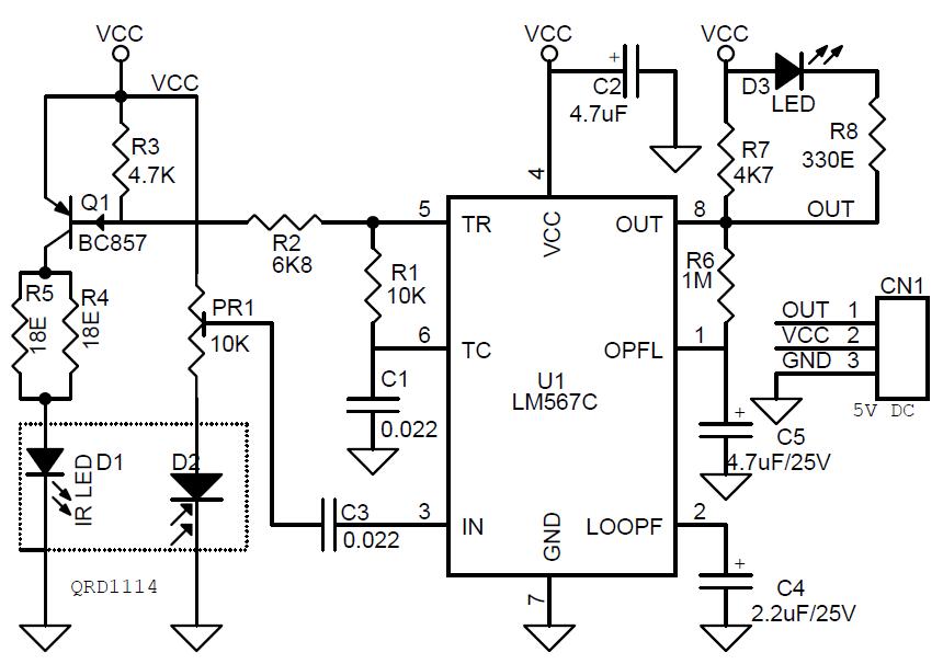 Photodiode vor Fremdlicht schützen-Lock-in-Verstärker