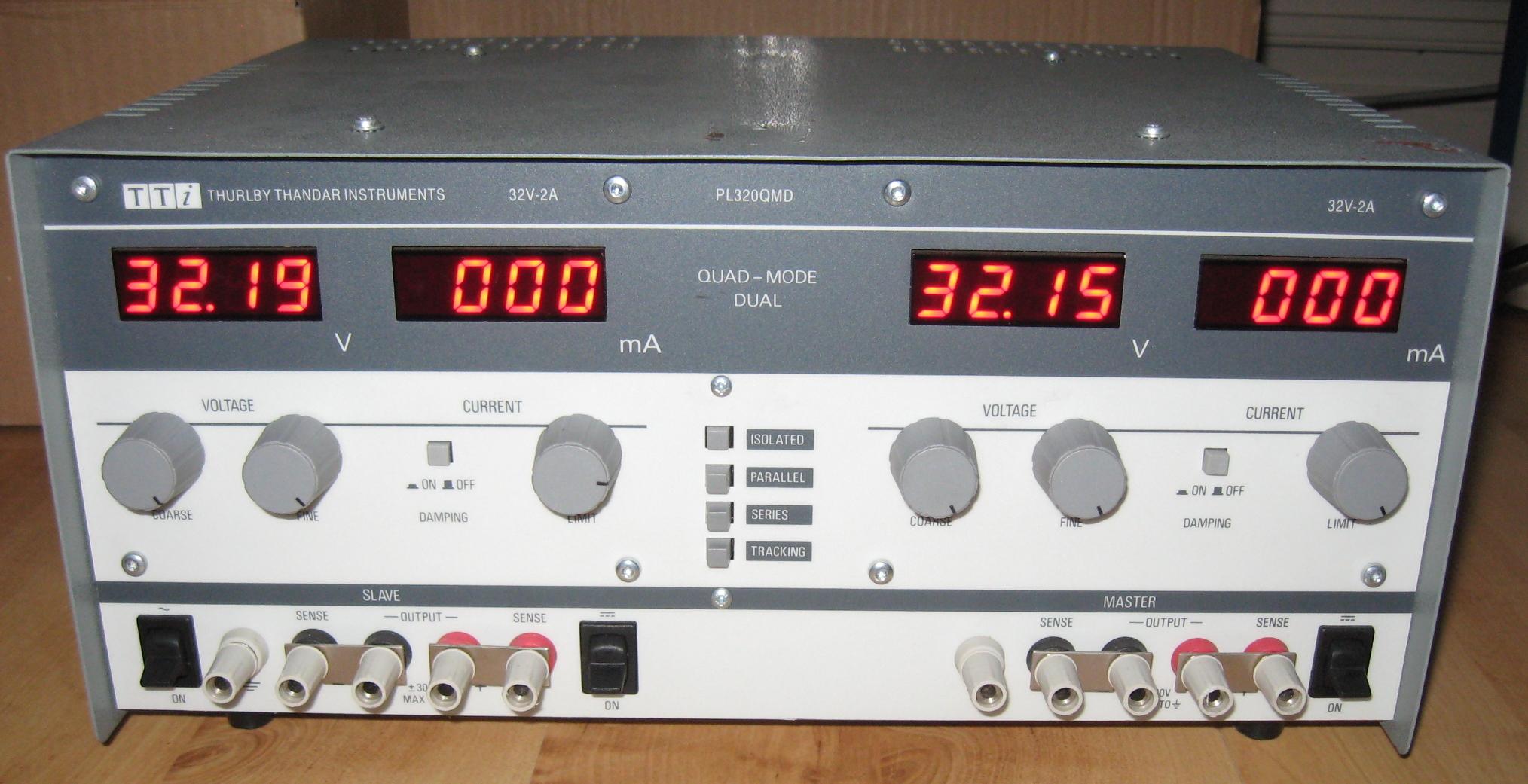 V: Netzteil TTI PL320QMD - Mikrocontroller.net