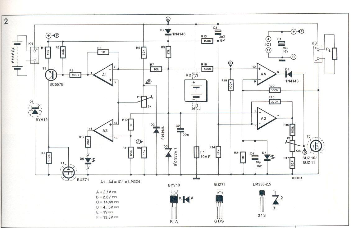 Solarregler Elektor mai 88 Schaltplan gesucht