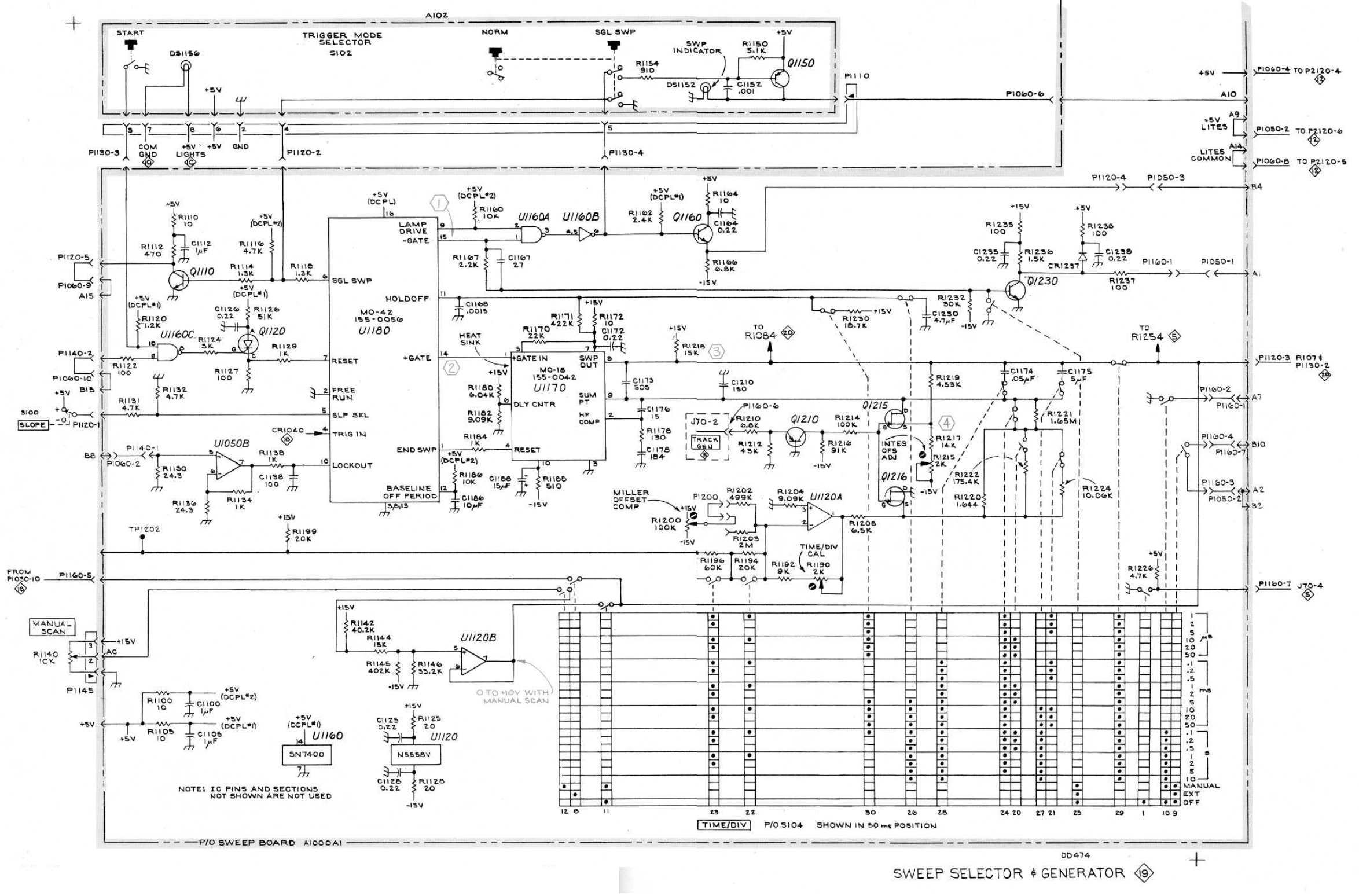 Manual für Tektronix 7L14 Spektrumanalysator
