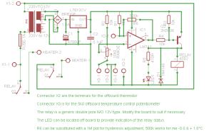 Temperaturschalter mit einem PT100  Mikrocontroller