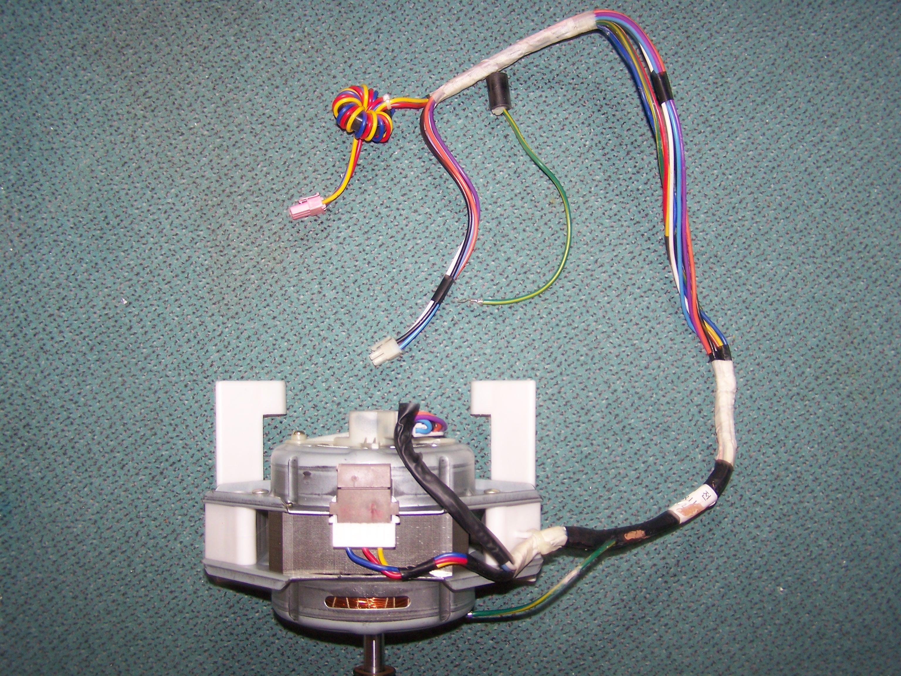 Waschmaschinen Motor Ansteuerung - Mikrocontroller.Net