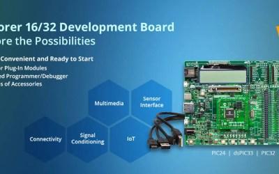 Conociendo el Explorer 16/32 de Microchip Technology INC